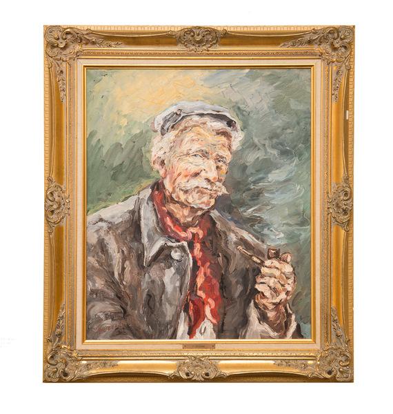 Original oil painting signed p. cecconi bio on black  750%28web%29