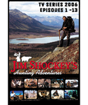 WAS $19.95 Jim Shockeys Hunting Adventures TV Series 2006 DVD (Episodes 1-13)